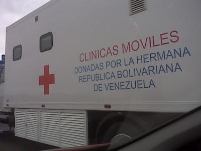 Que hacen estas Clinicas Moviles donadas en Espa�a.