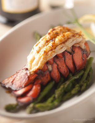 Broiled Lobster Tails with Garlic Butter