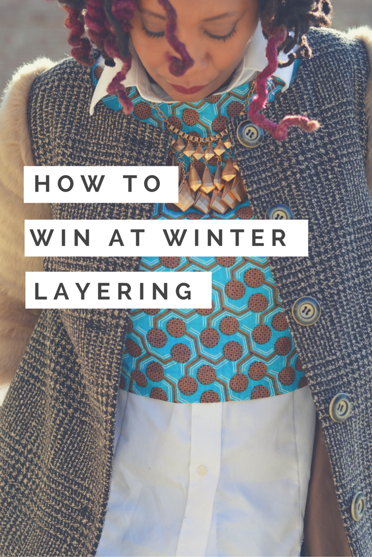 how to win at winter layering