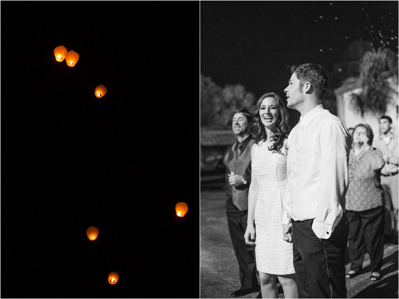 floating lanterns palm beach florida wedding