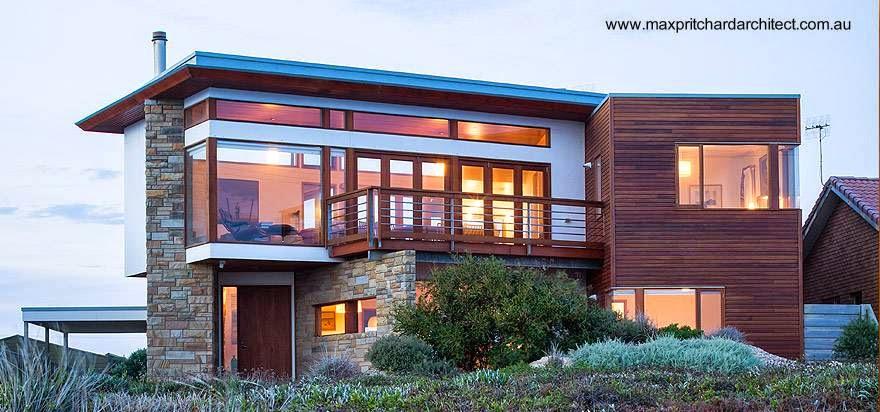 Casa de playa contemporánea en Australia