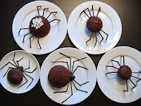 decoracion halloween arañas