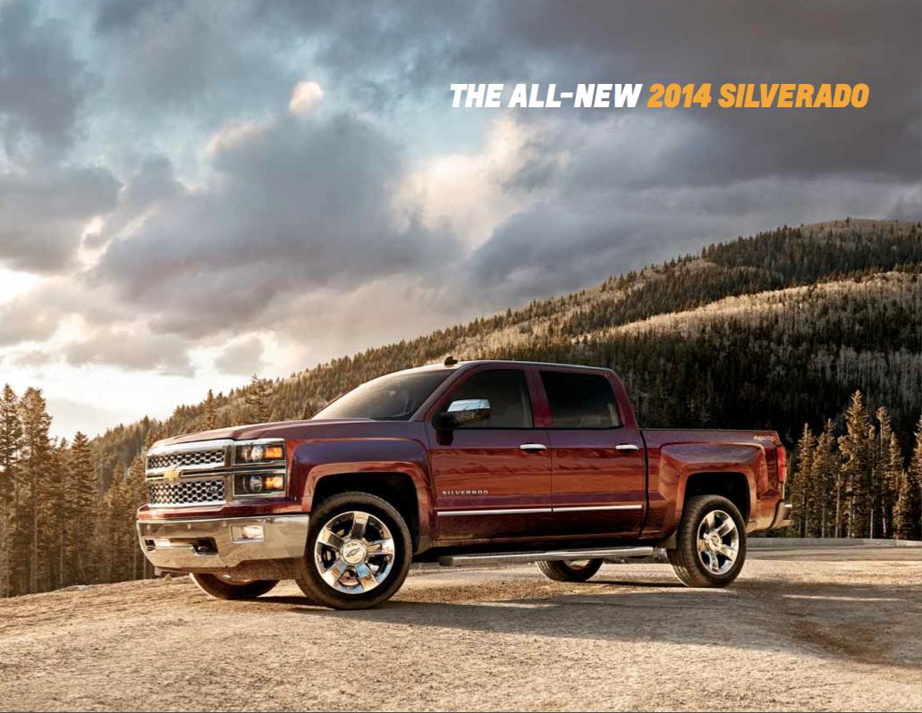 2014 Chevrolet Silverado Brochure from Kool Chevrolet
