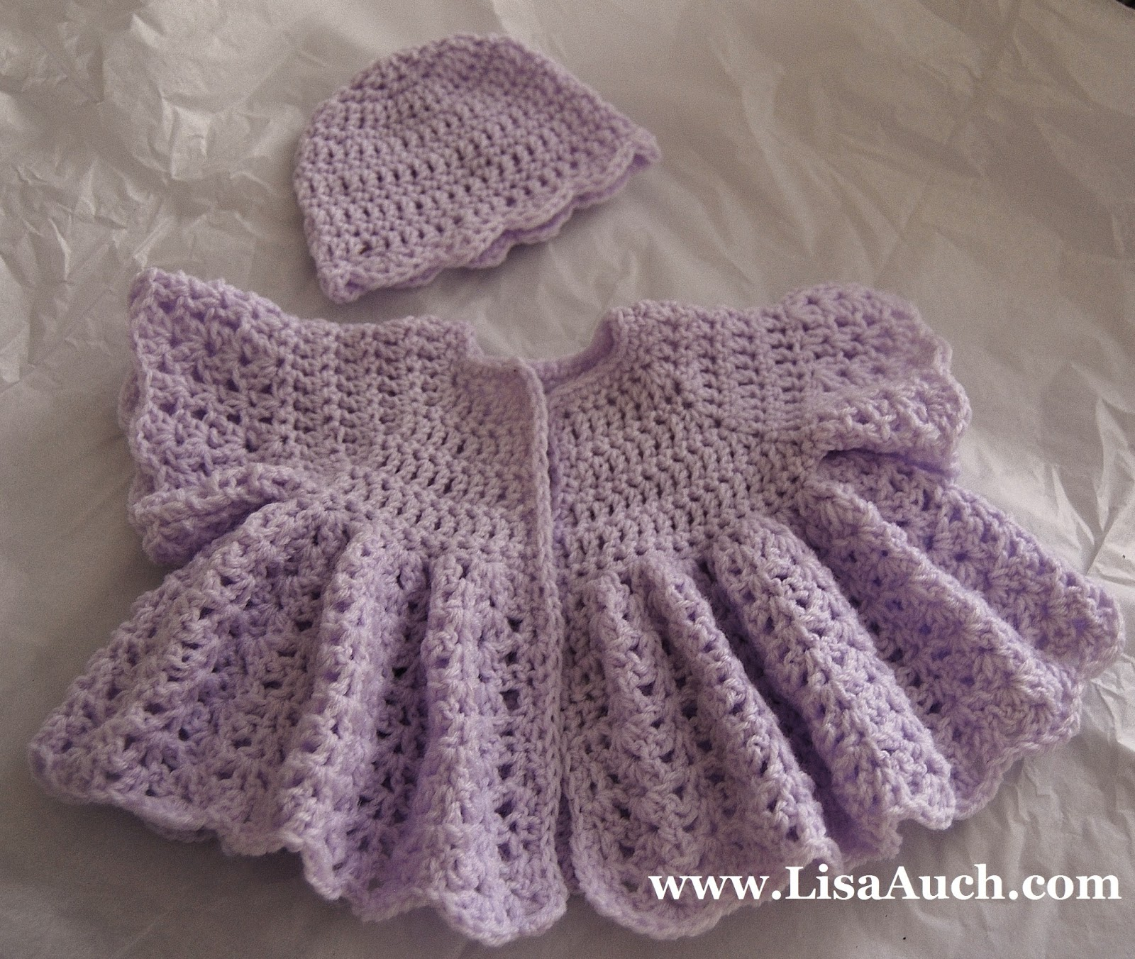Infant Cardigan Patterns 29