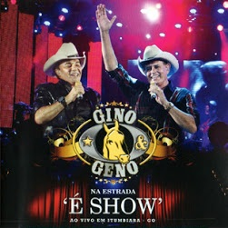 CD Gino e Geno &#8211; Na Estrada  Show