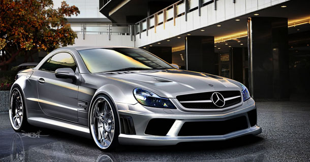 Mercedes E-Class superlight carbon fiber