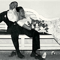 Obama & Michelle Wedding Day