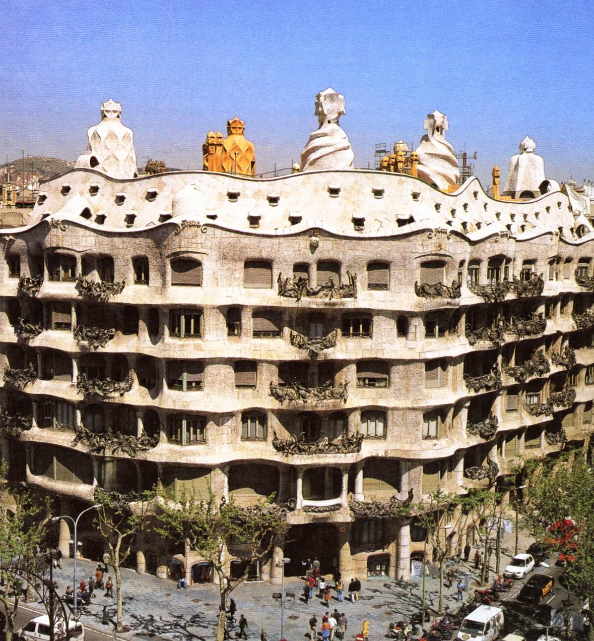 Revista digital apuntes de arquitectura antoni gaud m s - Escuela de arquitectura de barcelona ...