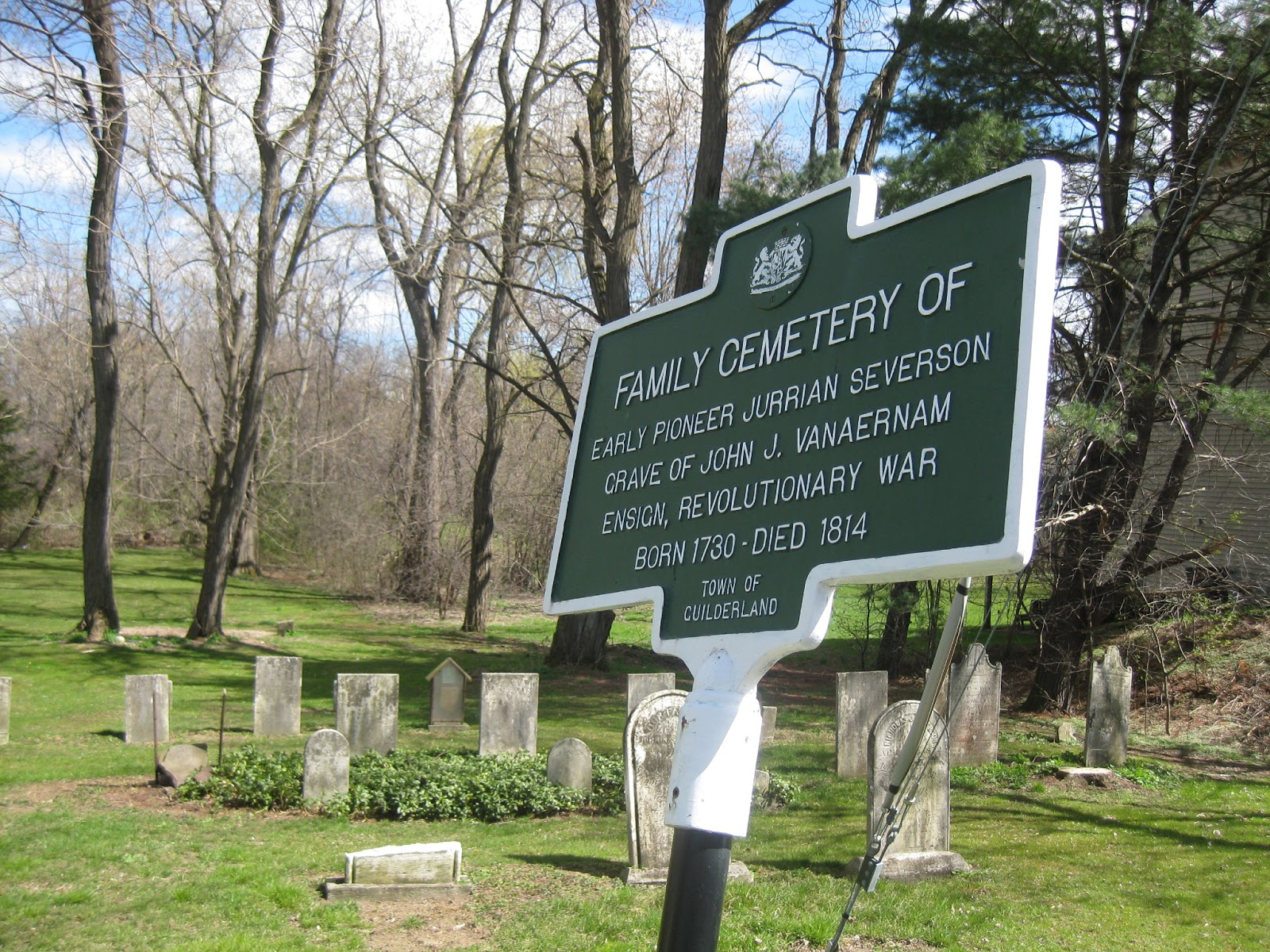 New York State Historical Markers It Happened Here February 2013