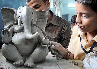 Lord Ganesh eco friendly