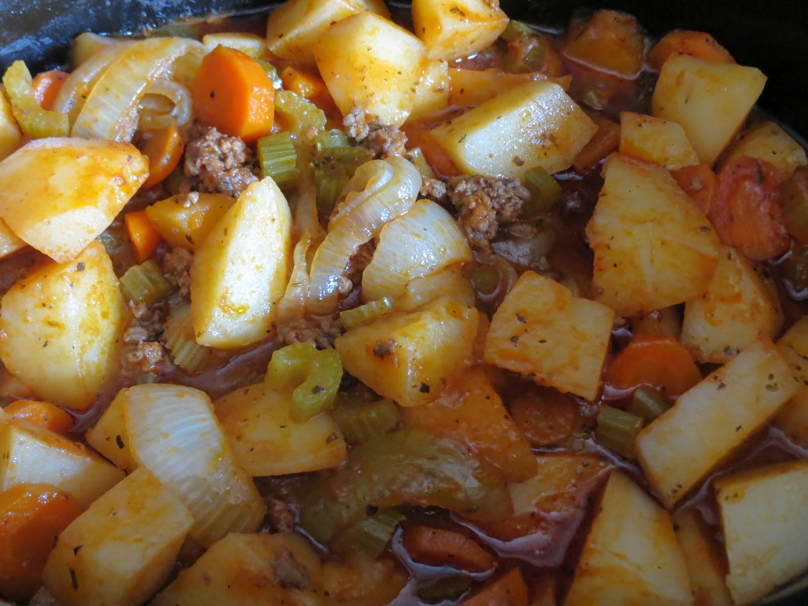La cuisine de Linda: Ragout de boeuf haché Mijoteuse