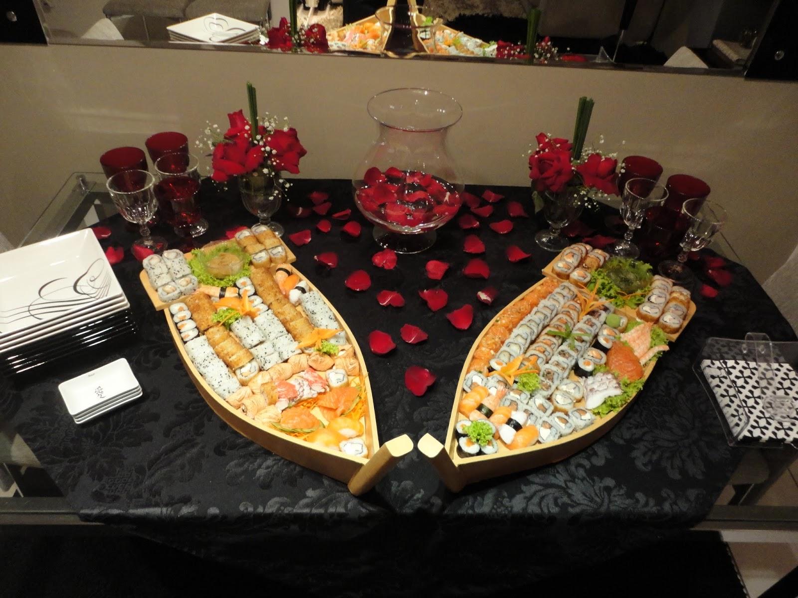 Meu ambiente por isabela ara jo mesa decorada tema japon s - Mesas japonesas ...