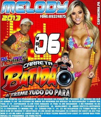 Cd Carreta Batidão  vol. 06 Treme Tudo do Pará