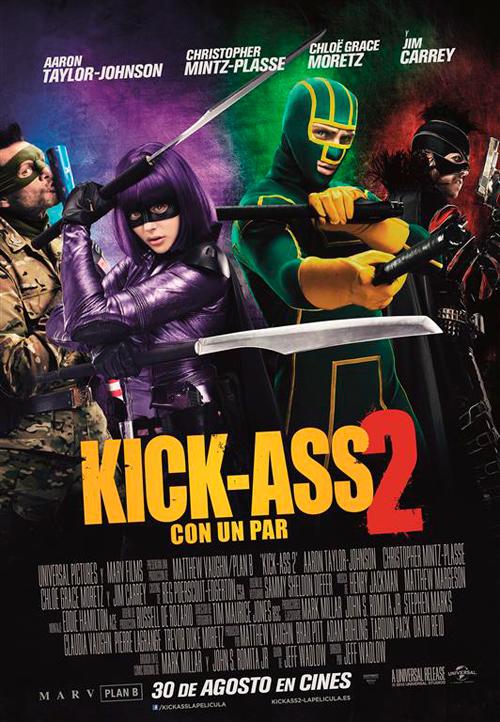 Kick-Ass 2: Poster final en Español
