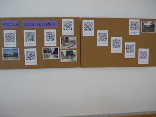 Trabajos en QR de los alumnos