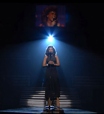 whitney grammy tribute hudson