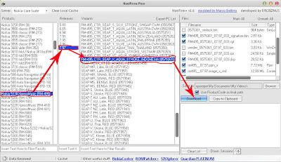 Jika sudah akan muncul file firmware yang akan kita download (kalau ...