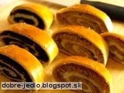 Makový a orechový závin - recept