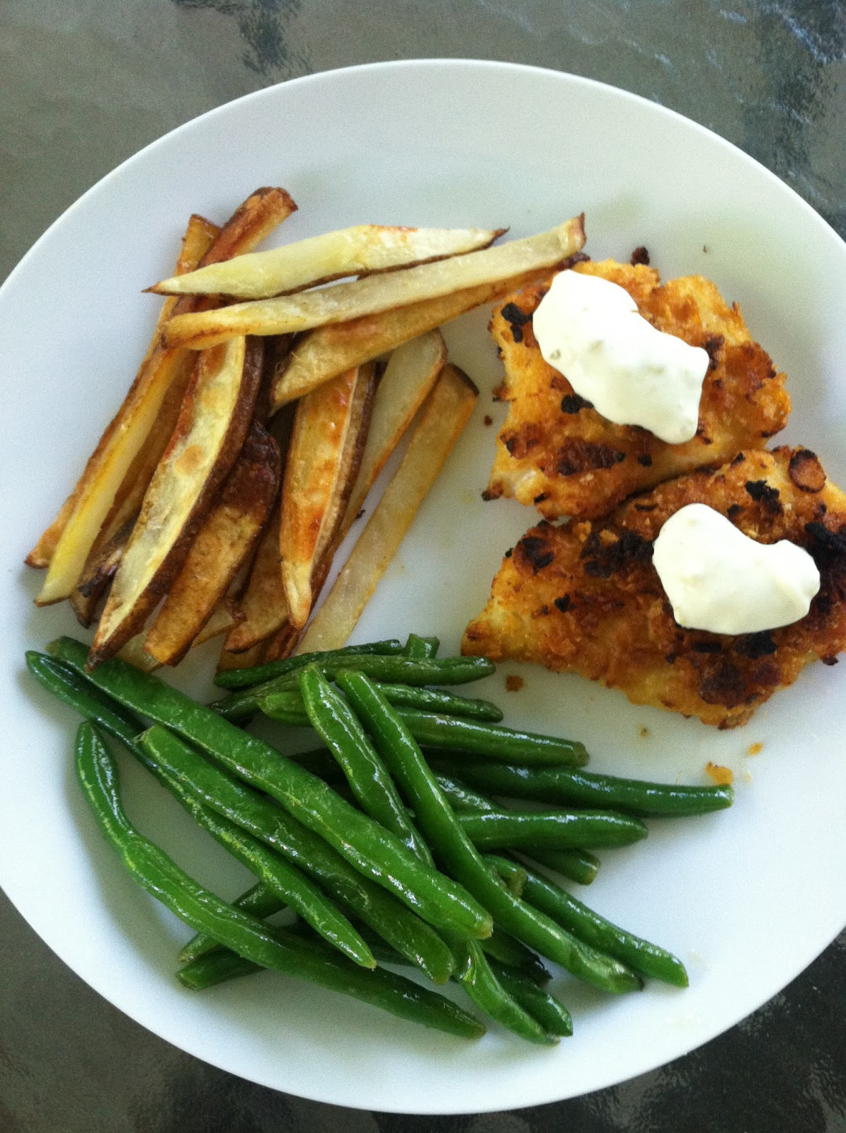 how to make fish and chips healthy