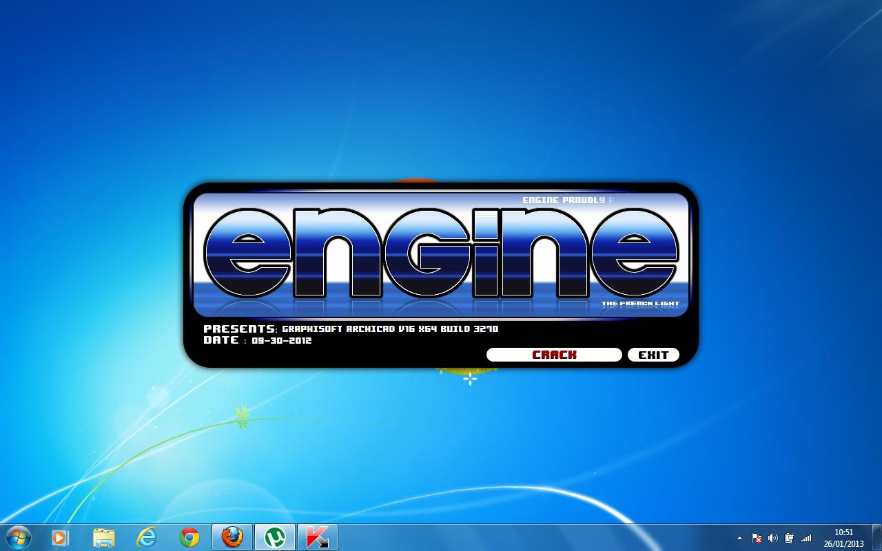 Crack engine archicad 16 3270