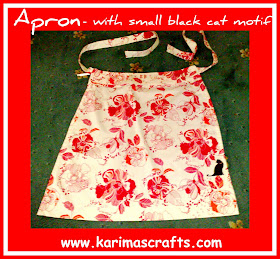 waist apron cat tutorial