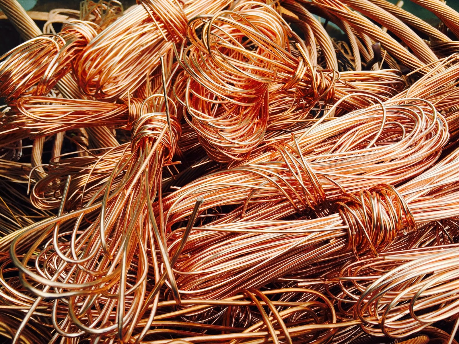 bare bright copper wire recycling