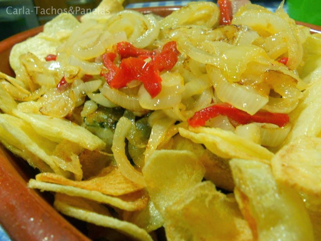 receita de bacalhau de cebolada