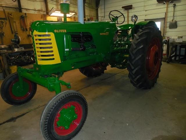 Oliver 770 3 Point Hitch : Johnson family tractors oliver super restoration