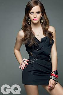 Emna Watson pose pour le magazine CQ (Photos)
