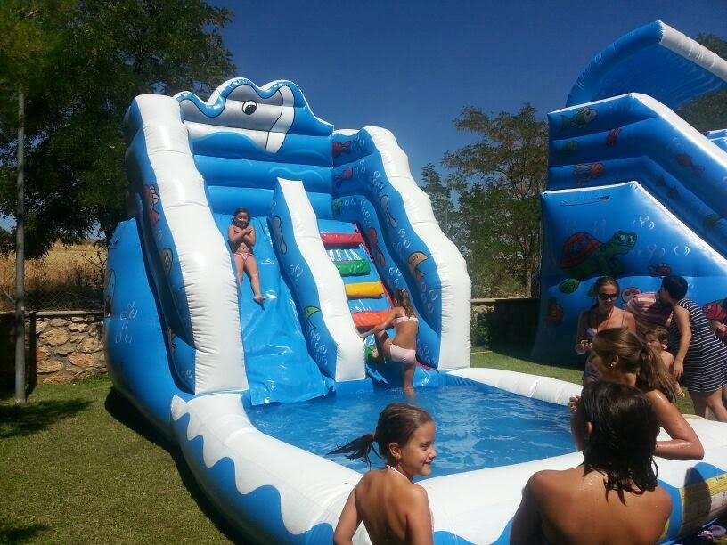 Jijijaja animaciones hinchables acuaticos 2 con agua - Hinchables de agua para piscinas ...