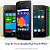 Alcatel One Touch PiXi 3, 4027N ကို ျမန္မာစာ ထည့္သြင္းနည္း