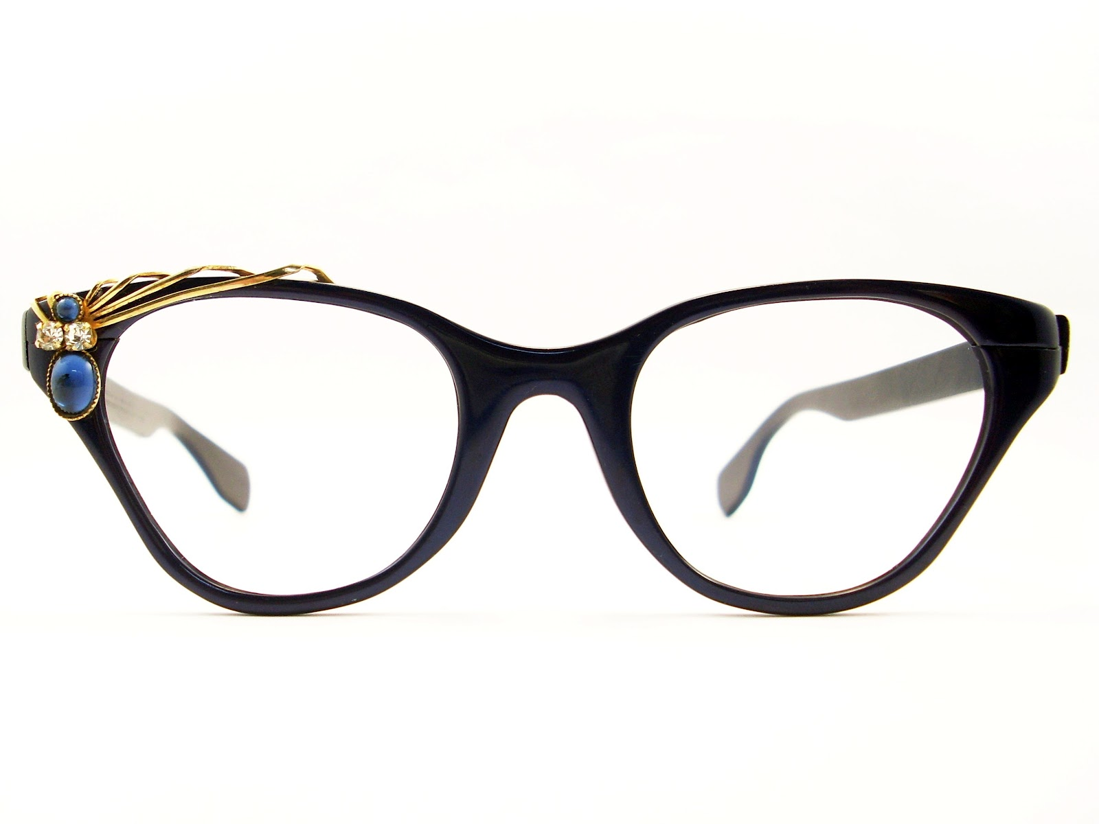 Vintage Eyeglass Frames Cat Eye : Cat eye glasses vintage
