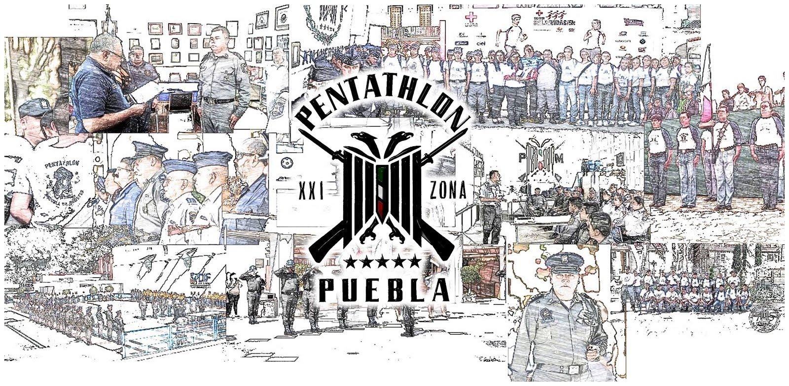 Pentathlón Deportivo Militarizado Universitario. XXI Zona Puebla