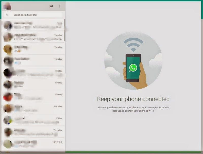 طريقة تشغيل تطبيق واتساب على أجهزة الكمبيوتر من متصفح جوجل كروم.