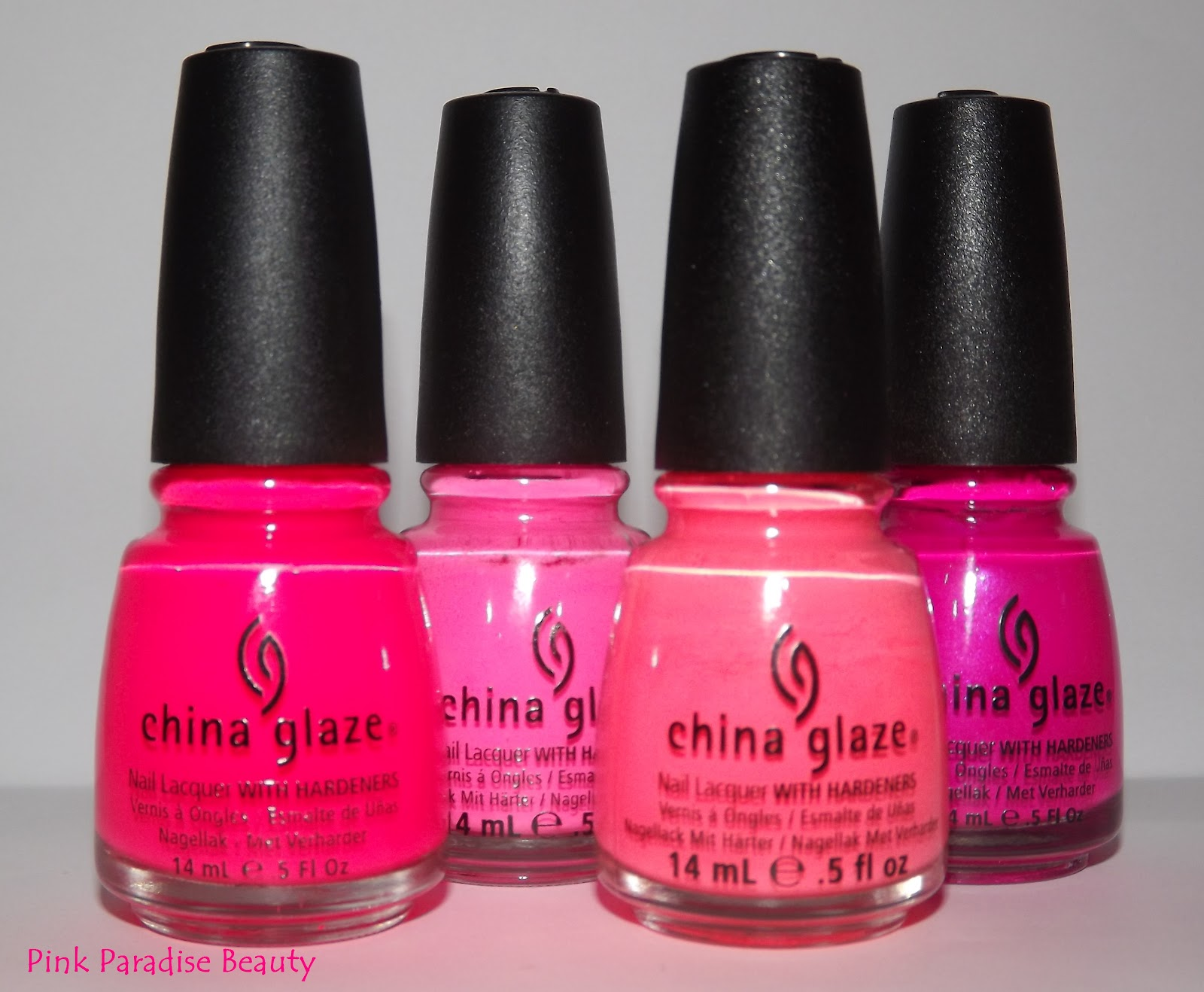 China Glaze Flip Flop Fantasy Vs Pool Party TREND: Neon Fas...