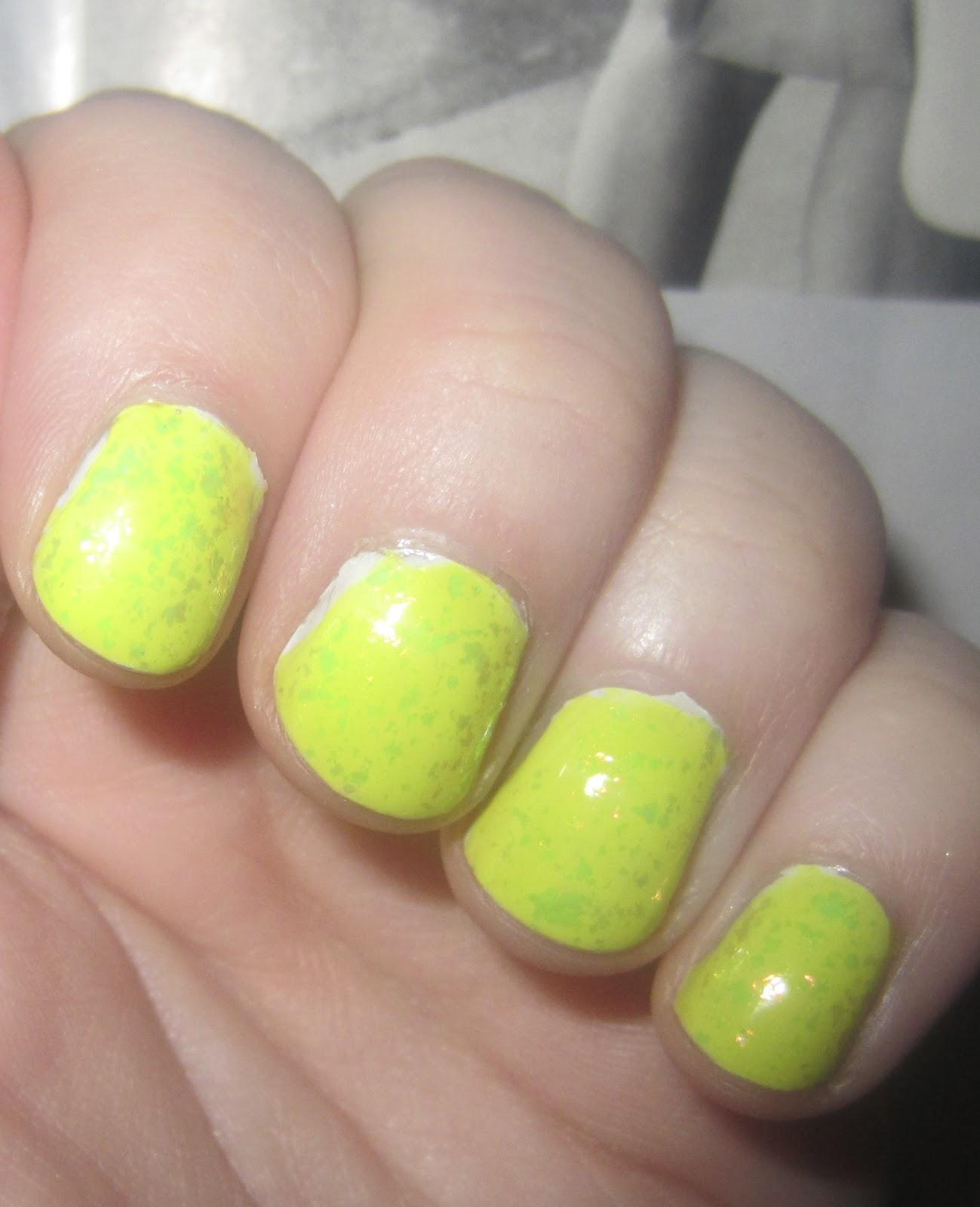 Acid Yellow Nail Polish: The Dodo Way: Acid Rain... Nail Of The Day