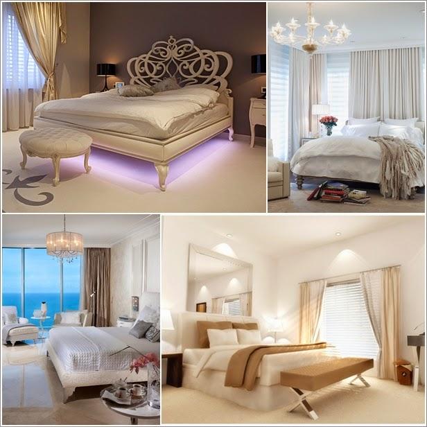 Fantastične ideje za osvjetljenje spavaće sobe  Uređenje doma i interijera