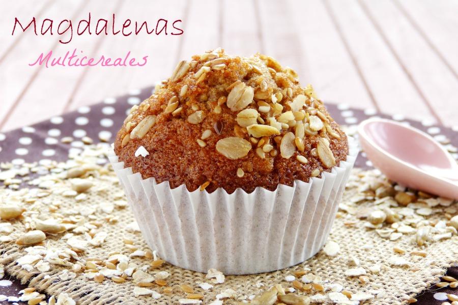 Magdalenas multi cereales con semillas