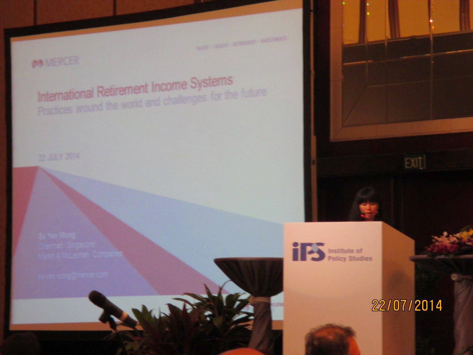 ips forum on cpf international retirement income systems