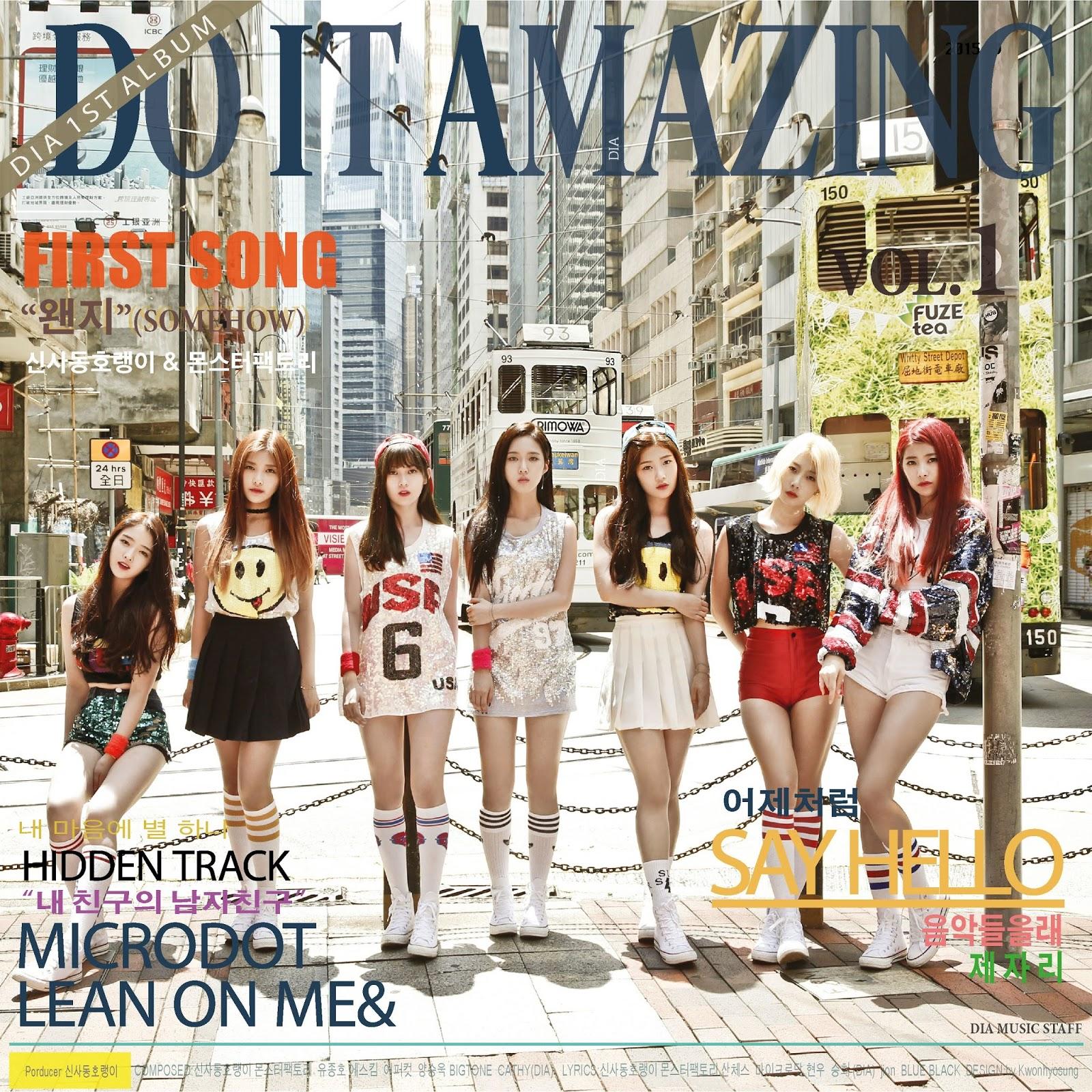 Gratis Download Album DIA Do It Amazing Vol.1 Full Mp3 Music Video