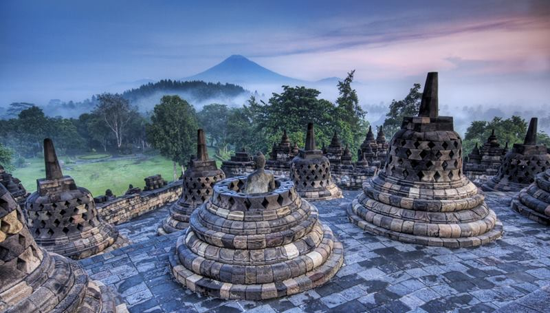 The Hidden Buddhist Temple of Borobudur