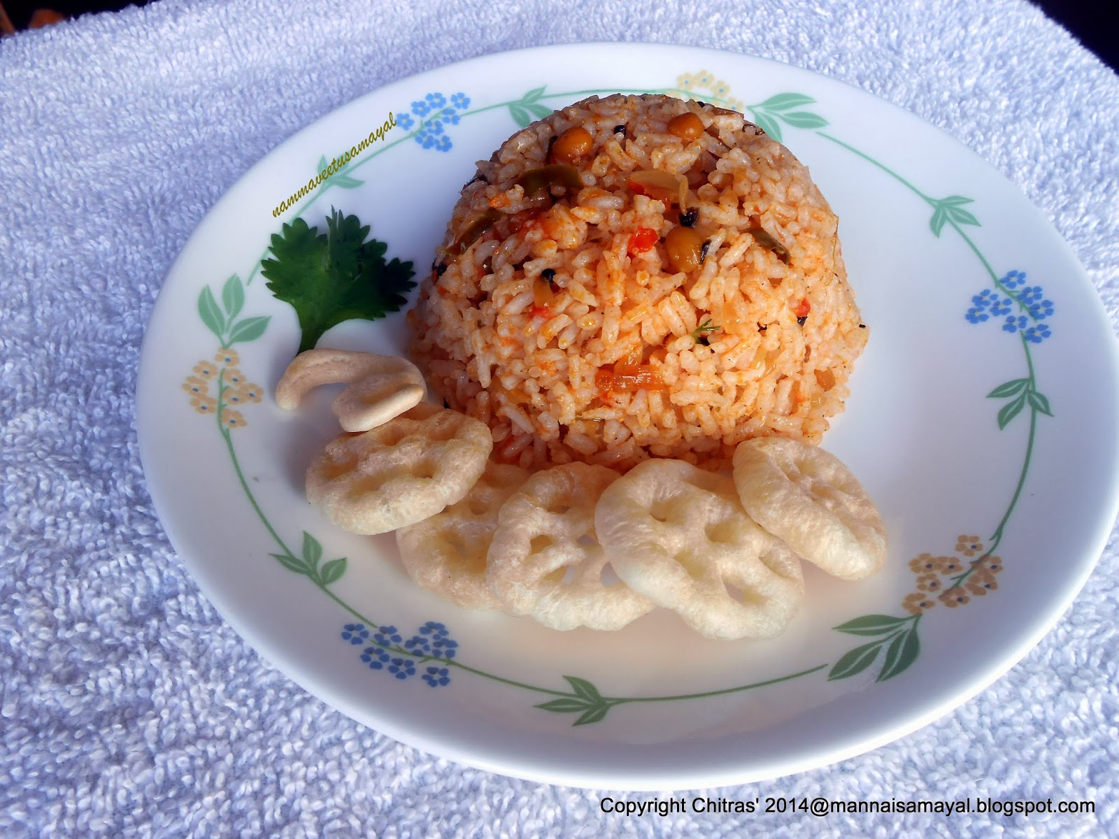 Thakkali Sadham [ Tomato Rice ]