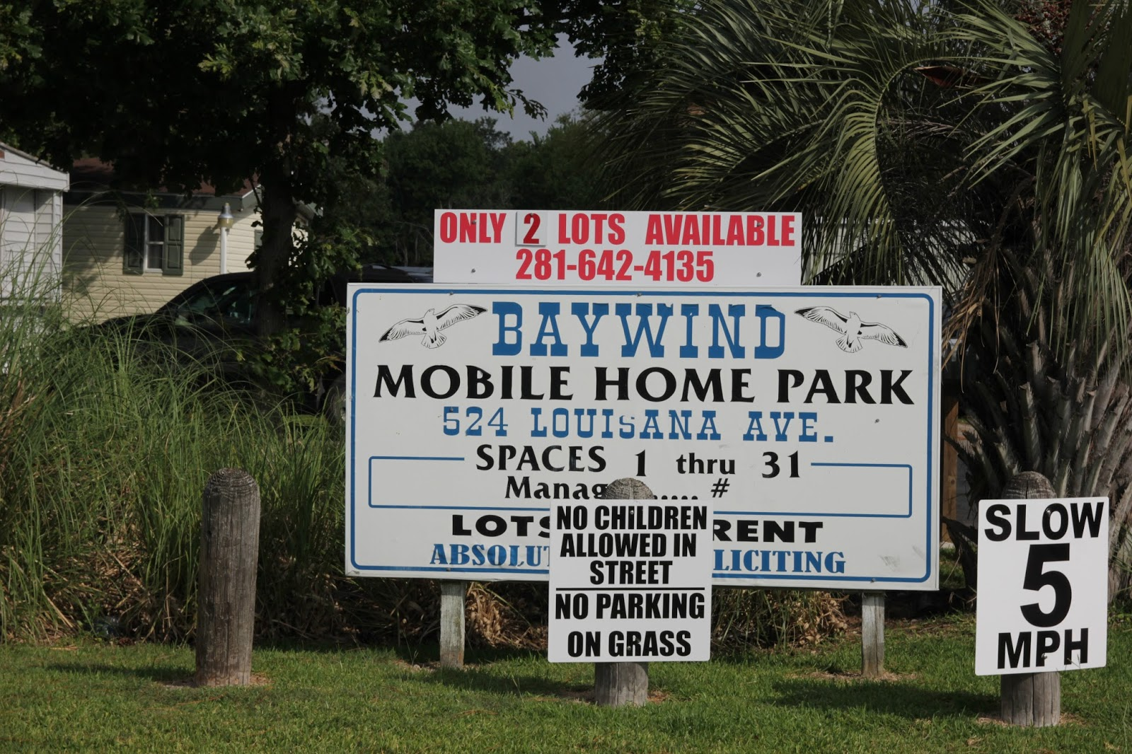 Welcome To BayWind Mobile Home Park Bacliff Tx Galveston County