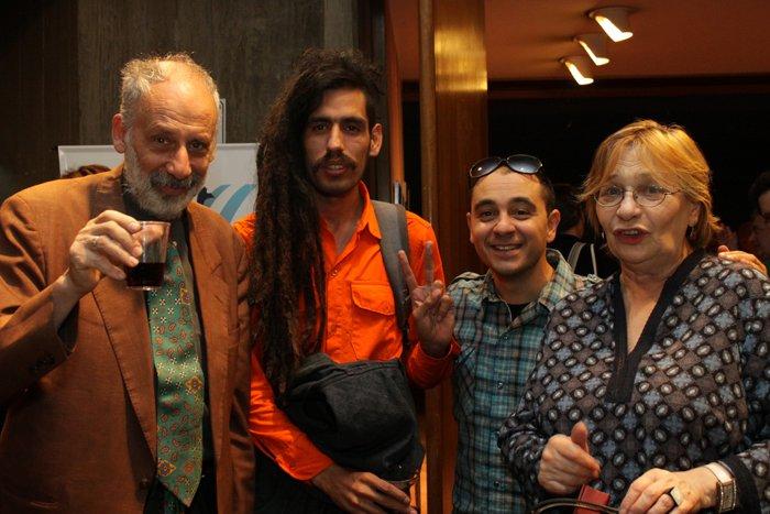 Foto de Jose Ludovico - presentación de La Memoria de los Ojos.