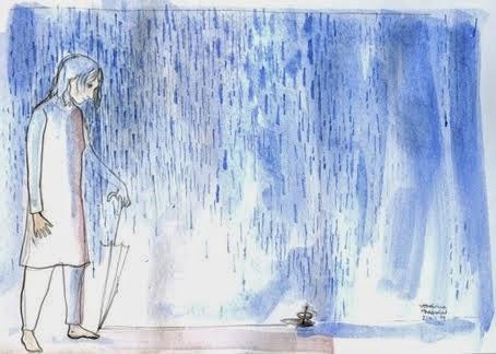 día de cerrar el paraguas