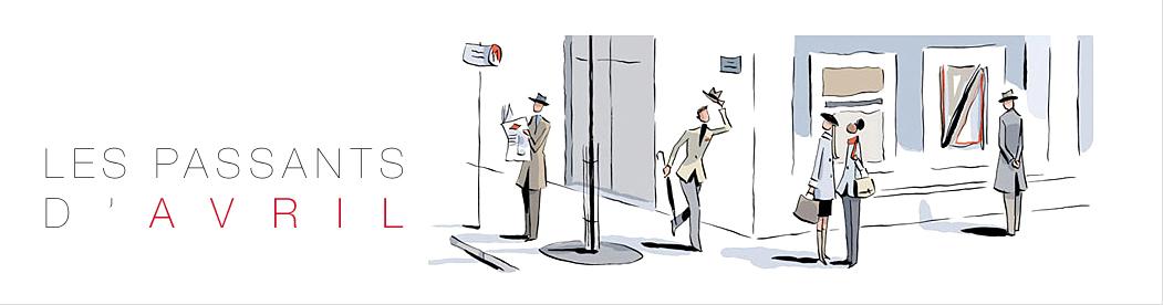 François Avril - Les passants d'Avril