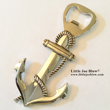Nautical | Anchor | Bottle Opener sold on http://littlejoeblow.com/NAUTICAL-anchor-bottle-opener.html - Little Joe Blow Ind. photo 2