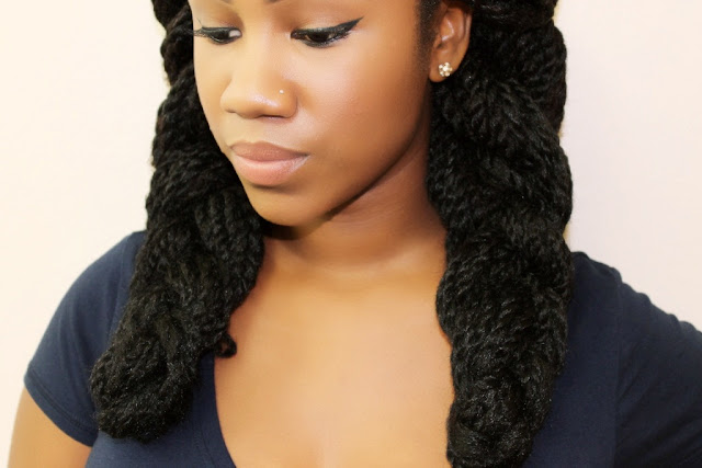 Styles for Senegalese/Marley Twists