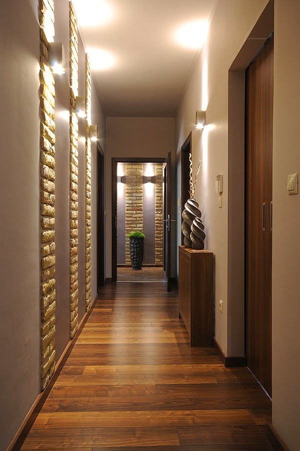 hogares frescos 8 ideas creativas para sus pasillos On diseno pasillos interiores