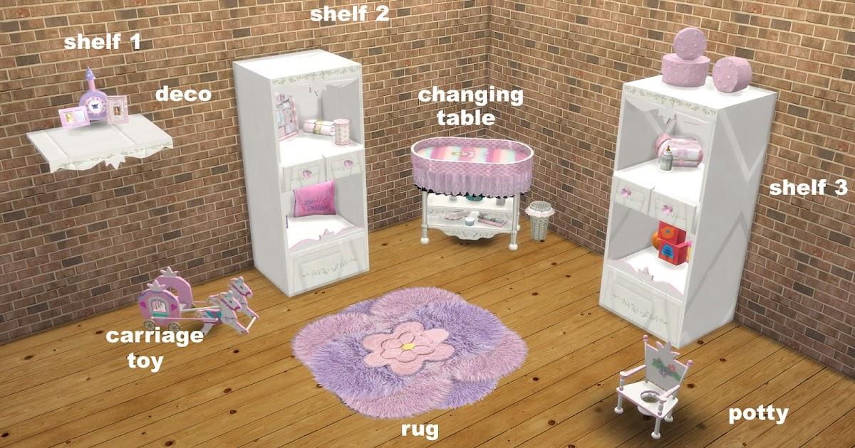 Vita Sims Baby Room Ts2 To Ts4 Conversation The Sims 4